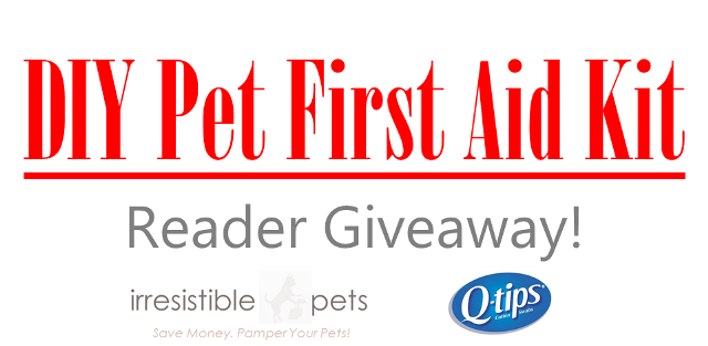 Giveaway DIY Pet First Aid Kit