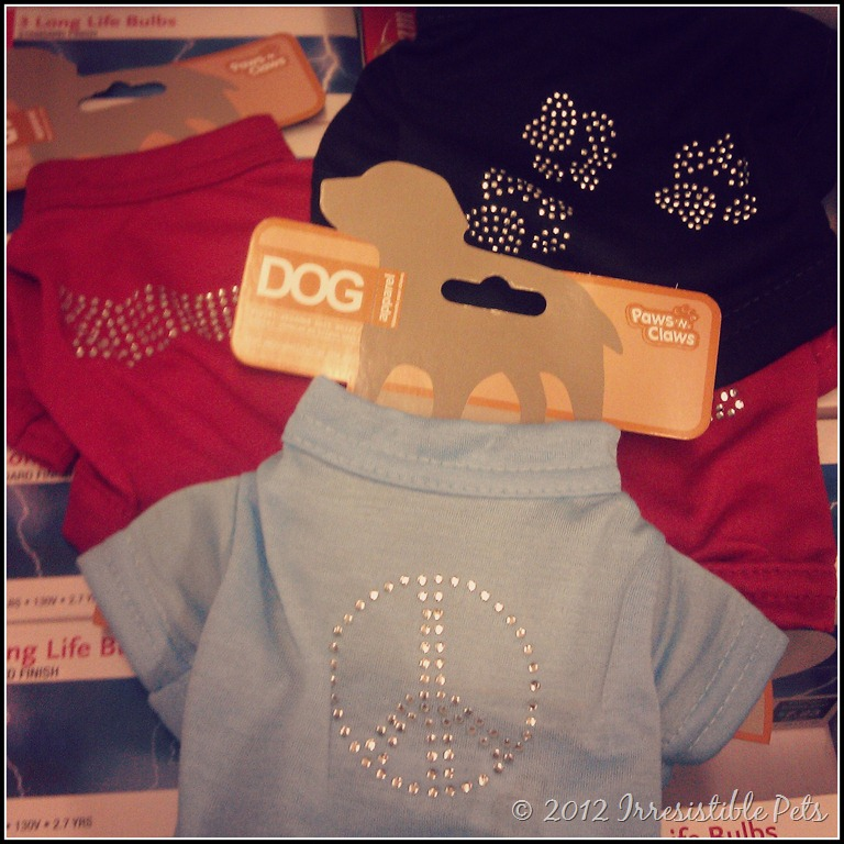 Irresistible finds dollar tree pet supplies for Cute shirts for 5 dollars