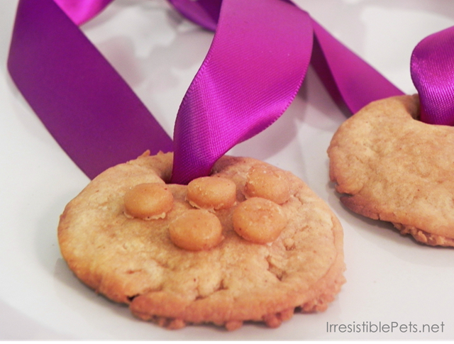 Olympic Medal Dog Treats
