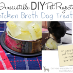 DIY Chicken Broth Dog Treats