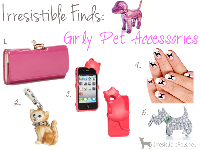 Girly Pet Accessories