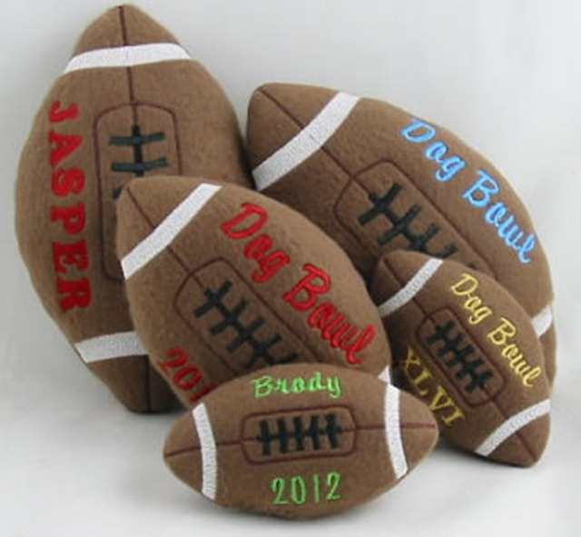 Personalized Football Toy for Dogs