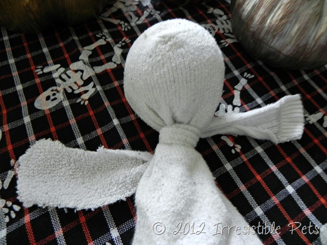 DIY Ghost Dog Toy - Step Two