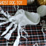 Howl-O-Ween {DIY Ghost Dog Toy}