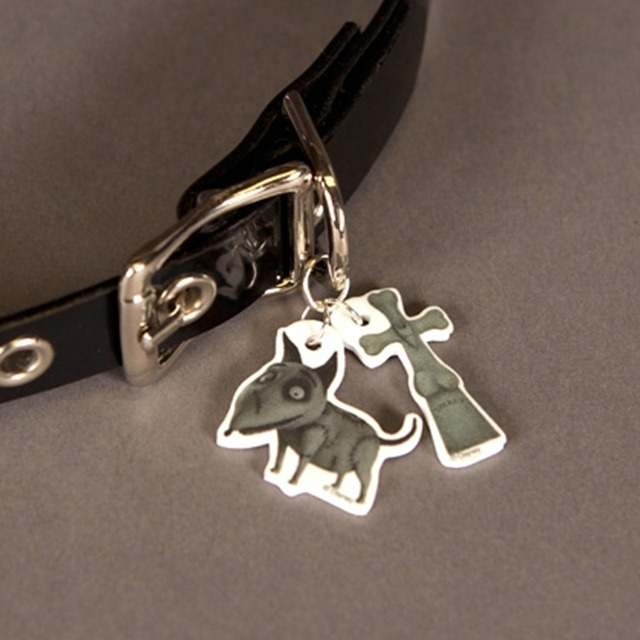 Frankenweenie - Sparky Dog Collar Charms