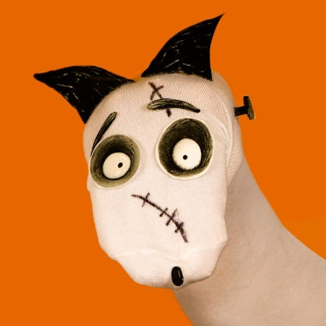 Frankenweenie - Sparky Sock Puppet