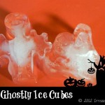Howl-O-Ween {DIY Ghostly Ice Cubes}