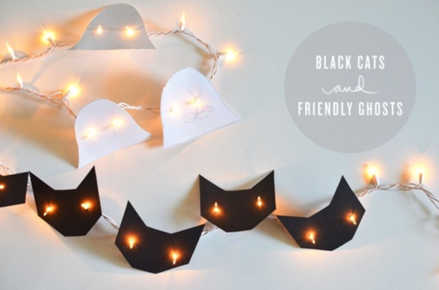 Howloween - Black Cat DIY Lights
