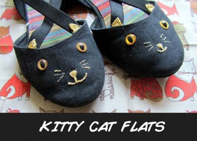 Howloween - Black Cat Flats
