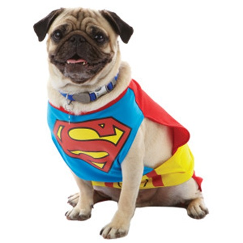 Howloween - Pet Superhero Costumes - Super Man