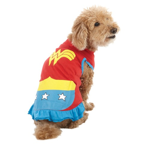 Howloween - Pet Superhero Costumes - Wonder Woman
