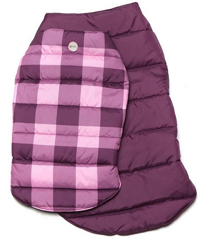 Trip to the Pumpkin Patch - Purple Plaid Coat