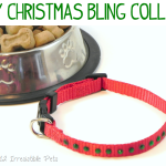 DIY Christmas Bling Collar