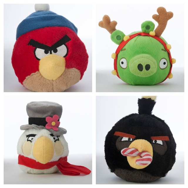 Angry Birds Winter Pet Toys