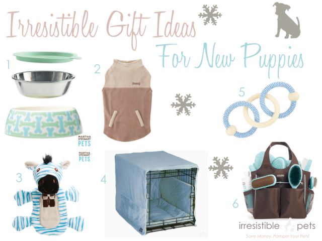 Irresistible Pets Gift Ideas - New Boy Puppies