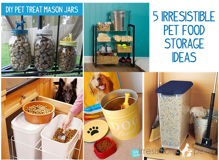 5 Irresistible Pet Food Storage Ideas Irresistible Pets