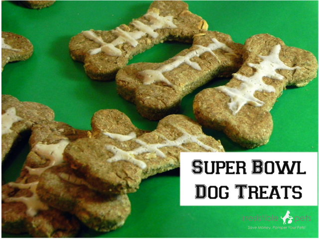 Super Bones Super Bowl Dog Treats from IrresistiblePets.net