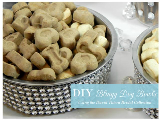 DIY Blingy Dog Bowls from IrresistiblePets.net