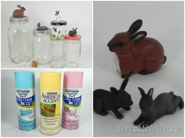 Irresistible Bunny Jars - Supplies You Need