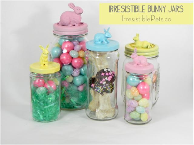 Irresistible Bunny Jars via IrresistiblePets.co
