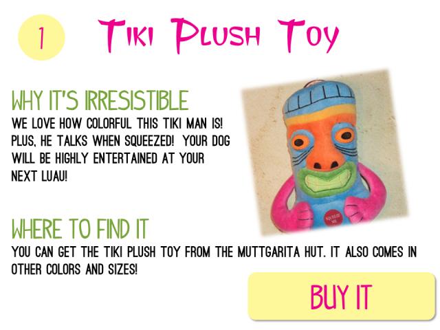 1 - Tiki Plush Toy