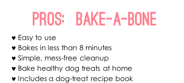 Bake a Bone Product Review by Irresistible Pets