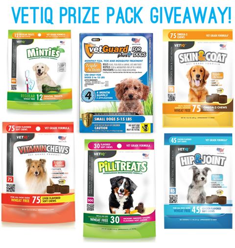 VetIQ Prize Pack Giveaway