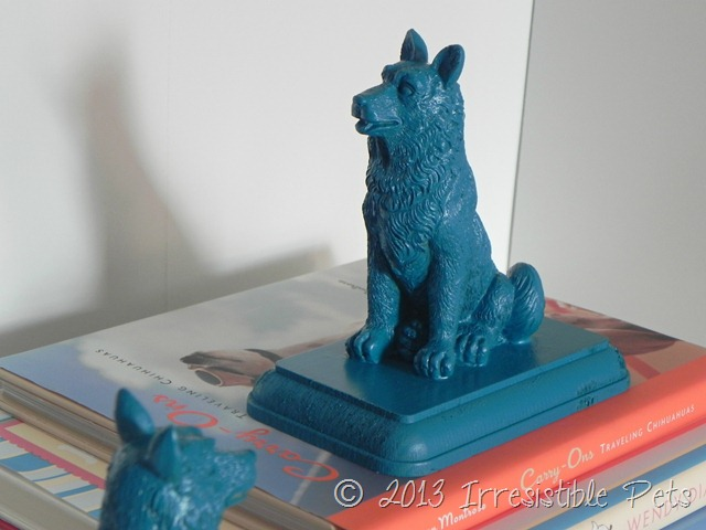 Pottery Barn Inspired DIY Dog Bookends