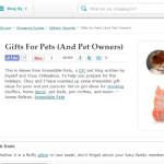 Better Homes and Gardens Gift Guide for Pets