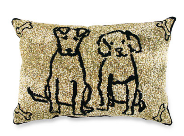 Better Homes and Gardens Gift for Pets - Gold Pet Pillows