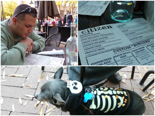 Citizen Burger Bar Charlottesville Virginia Dog Friendly