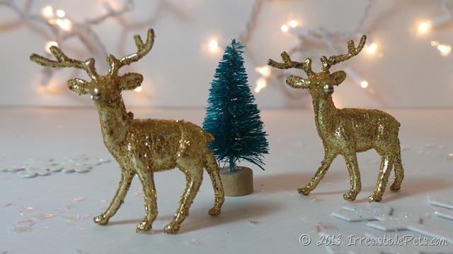 DIY Winter Wonderland Diorama Supplies