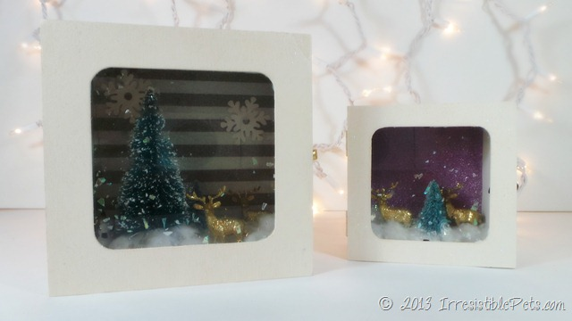 DIY Winter Wonderland Diorama by IrresistiblePets.com