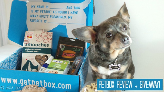 PetBox Product Review by IrresistiblePets.com