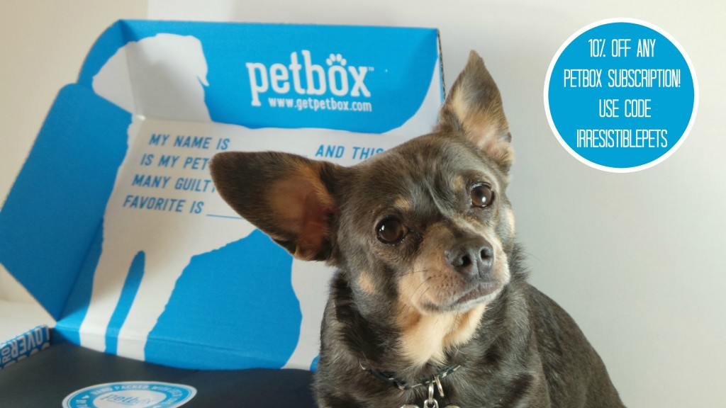 PetBox Ten Percent Off Subscription with Code IrresistiblePets