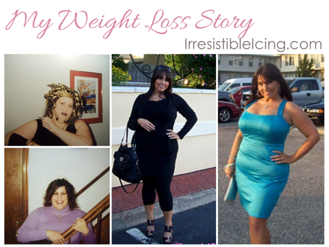 My Weight Loss Story via IrresistibleIcing.com
