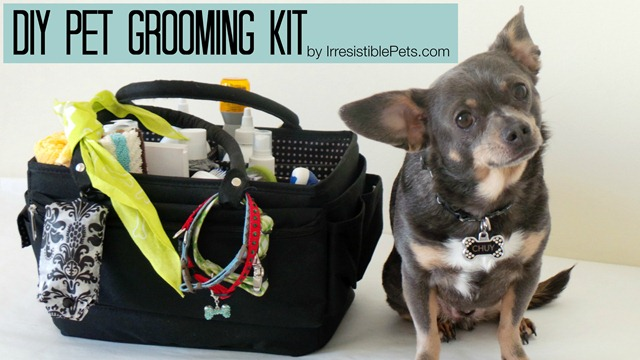 DIY Pet Grooming Kit by IrresistiblePets.com