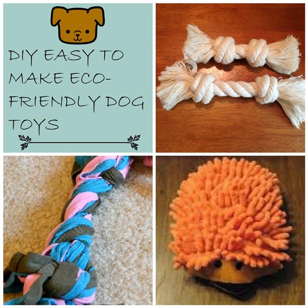 DIY Dog Friendly Toys