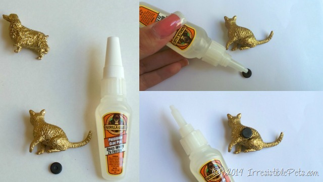 DIY Pet Magnets Glue by IrresistiblePets.com
