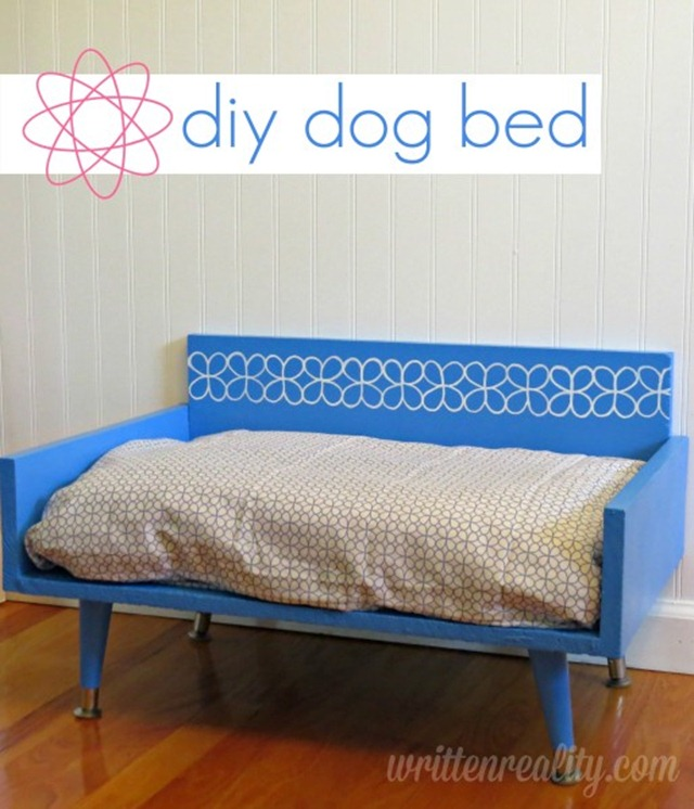DIY Dog Bed from Written Reality