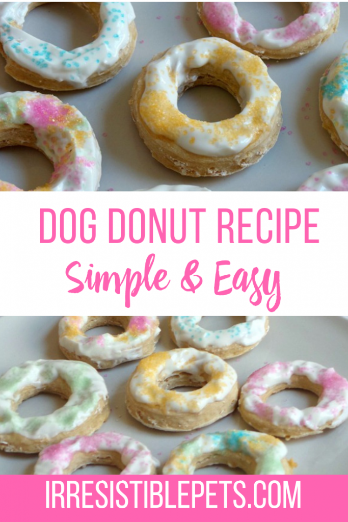 Irresistible Dog Donut Recipe Irresistible Pets