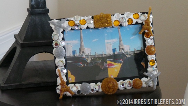 DIY 3D Decoden Vacation Photo Frame