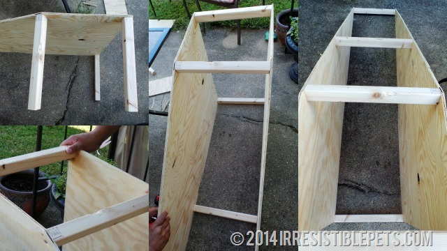 DIY Dog Ramp Support Beams
