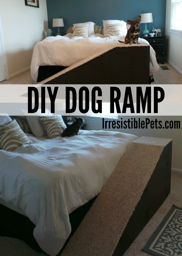 DIY Dog Ramp by IrresisiblePets.com