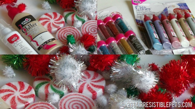 Tulip Glitter Fabric Paint for Ugly Christmas Sweater
