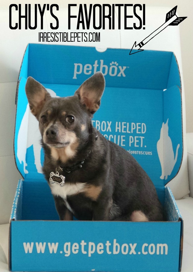 Chuy's PetBox Favorites at IrresistiblePets.com