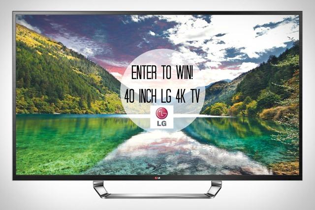 LG 4K TV Giveaway