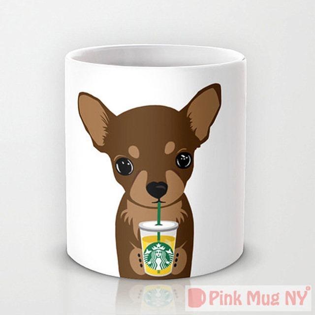 Chihuahua Starbucks Mug