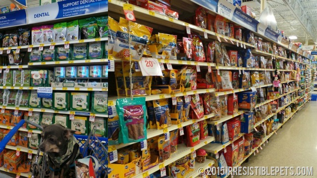 PetSmart Dental Treats Aisle