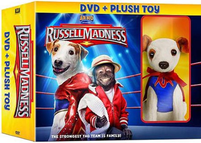 Russell Madness and Plush Toy DVD Set Giveaway